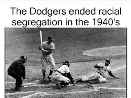Image result for jackie robinson broke the color line