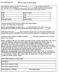 Used Car Sales Forms Barca Fontanacountryinn Com