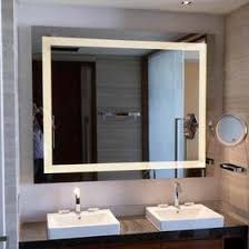 Bathroom Mirrors With Led Lights Bright Mirror Built In Lighting