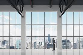 office glass windows. Download Businessman Looking Through The Window In Office Stock Photo - Image Of Glass, Glass Windows R