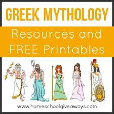 in this research assignment students research different gods greek mythology resources and printables