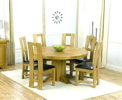 glass and oak round dining table round dining table with 6 chairs round dining room tables