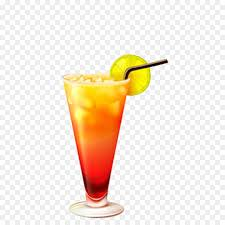 tequila sunrise cocktail shot glass free drink cup creative matting