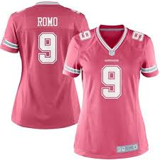 Women's Cowboys Dallas Sale 9 Elite Cheap Jersey Football Tony Pink Romo