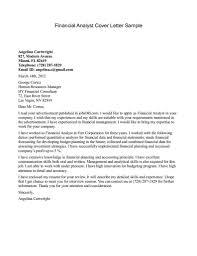 Certified Financial Planner Resume Sample Cover Letter For Financial Advisor Trainee 18