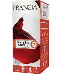 Fruity Red Sangria Franzia Wines