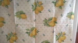LAURA ASHLEY VINTAGE Lemon Grove Fabric (1996) – 2 large pieces - £16.00 |  PicClick UK