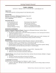Resume Samples Biology Resume Ixiplay Free Resume Samples
