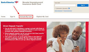 That those cards are working now, and nevada unemployment claimants should have access to their benefit funds. Prepaid Bankofamerica Com Nevadauidebitcard How To Activate Your Nevada Unemployment Insurance Debit Card Ladder Io
