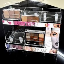 wei tu clear acrylic makeup display shelf stand for powder