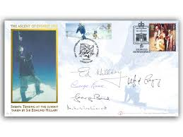 Buckingham Covers | Everest Extreme Endeavours/Coronation Signed Cover