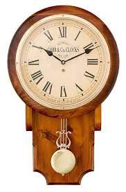 large pendulum clock roman numerals golden oak