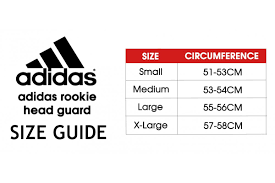 Boxing Head Guard Size Chart Adidas Rookie Head Guard Black