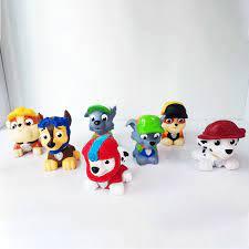 Set đồ chơi 7 chú chó cứu hộ Paw Patrol (Hàng xuất dư)