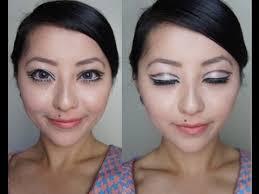 60 s twiggy makeup tutorial