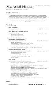 Food Assembler Resume samples