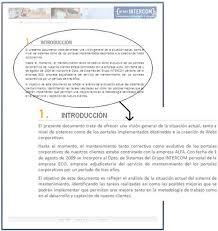formato de informe en word