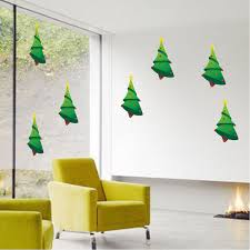 Aliexpresscom  Buy Removable Christmas Tree Snowflake Star Christmas Tree Decals