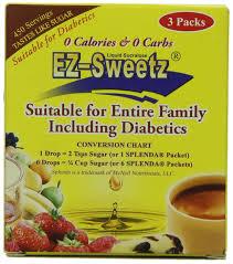 0 5 Oz Liquid Sweetener 450 Servings Bottle 3 Bottles Pack 1 Pack