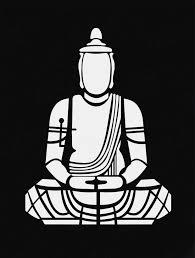 Black And White Buddha Art Art Prints