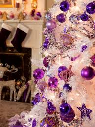 Pink And Purple Tree Decorations  PolyvorePurple Christmas Tree Bows
