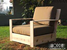 with the help of my friend shane today i am so excited to introduce plans for a more contemporary outdoor lounge chair