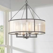brayden studio dailey 4 light drum chandelier reviews wayfair in drum chandelier view