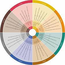 American Spirit Flavor Chart Whisky Flavour Wheels And Colour Charts Malt Whisky Reviews