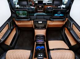 maybach interior 2012. mercedes somehow makes the ultraluxe gwagen even swankier maybach interior 2012
