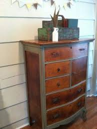 Two tone furniture painting Wood Combination Stained And Painted Antique Furniture Yahoo Image Search Results Pinterest Combination Stained And Painted Antique Furniture Yahoo Image