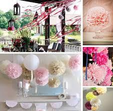 Tissue Paper Flower Ideas 2019 Handmade 615cm Tissue Paper Pom Poms Paper Flower Ball Pompom For Home Garden Wedding Birthday Wedding Car Decoration From Gardenking Price