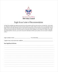 examples of eagle scout letter of recommendation 12 sample eagle scout recommendation letter templates pdf