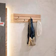 Coat Rack Oak Impressive Wallmounted Coat Rack Contemporary Oak VORGANO Voglauer