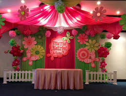 Korean Themed Party Decorations Flowers And Butterfly Theme Party Balloons Network Party Design