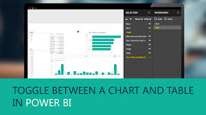 Toggle Between A Chart And Table In Power Bi Visual Bi
