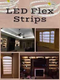 lighting for shelves. Cost Of Installing Led Lighting In Floating Shelves Flex Strips For A Variety Home W