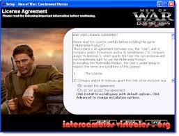men of war condemned heroes jeux a telecharger