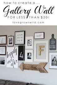 6 Steps To Creating An Inspiring Gallery WallWall Picture Frames For Living Room