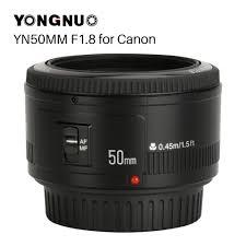 <b>YONGNUO YN50mm YN50</b> F1.8 EF EOS 50MM AF MF Camera ...