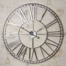 large nickel wall clock page 4 line