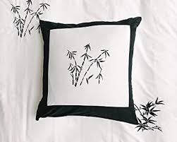black and white euro sham. Wonderful Sham Black And White Euro Pillow Slip Sham Cover Over Size Pillowcase  26u0026quotx26u0026quot Throughout And White Sham I