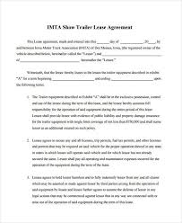 Lessor Lessee Agreement Template Sample Apartment Lease Agreement ...