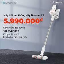 Mã ELTECHZONE giảm 5% đơn 500K] Máy hút bụi cầm tay không dây đa năng Xiaomi  Dreame V9 - Máy hút bụi
