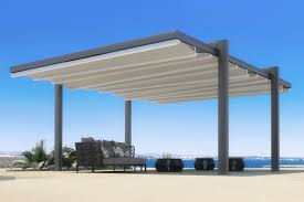 The Forli Free Standing Pergola Cover RetractableAwningscom