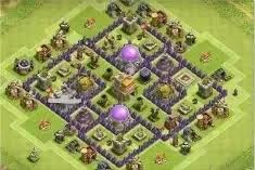 Base 7 What Is A Good Base Design For Level 7 Town Hall In Coc Quora