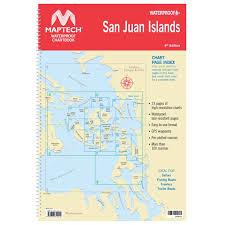 Maptech Waterproof Chartbook San Juan Islands