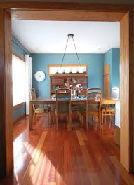 Exceptional My Dining Room With Oak Trim (paint Color: Sherwin Williams Moody Blue)    REALLY LIKE THIS BLUE WITH THE OAK! : )