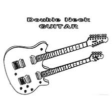 Small Picture Top 25 Free Printable Guitar Coloring Pages Online