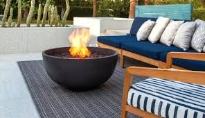 natural gas outdoor fire pit australia pits available in propane and ethanol brown rose