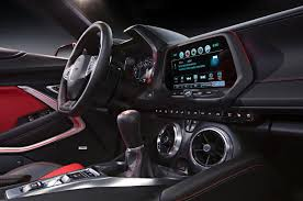 chevrolet camaro 2015 interior. the center console is now dominated by a convenient touchscreen infotainment system chevrolet camaro 2015 interior